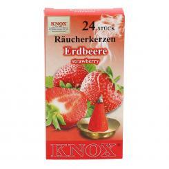 Aprikos Melone Räucherkerzen KNOX »Einhorn«  Apfel Erdbeere Pfirsich